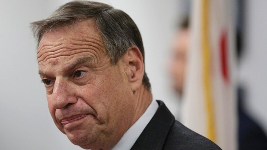 FILE: July 26, 2013: San Diego Mayor Bob Filner at a news conference in San Diego, Calif.
