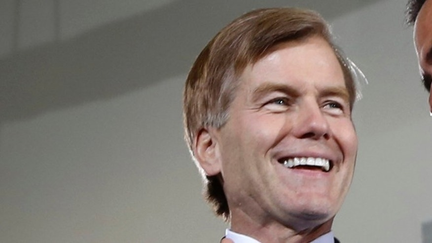 FILE: June 27, 2012: Virginia Gov. Bob McDonnell at an election rally in Sterling, Va.
