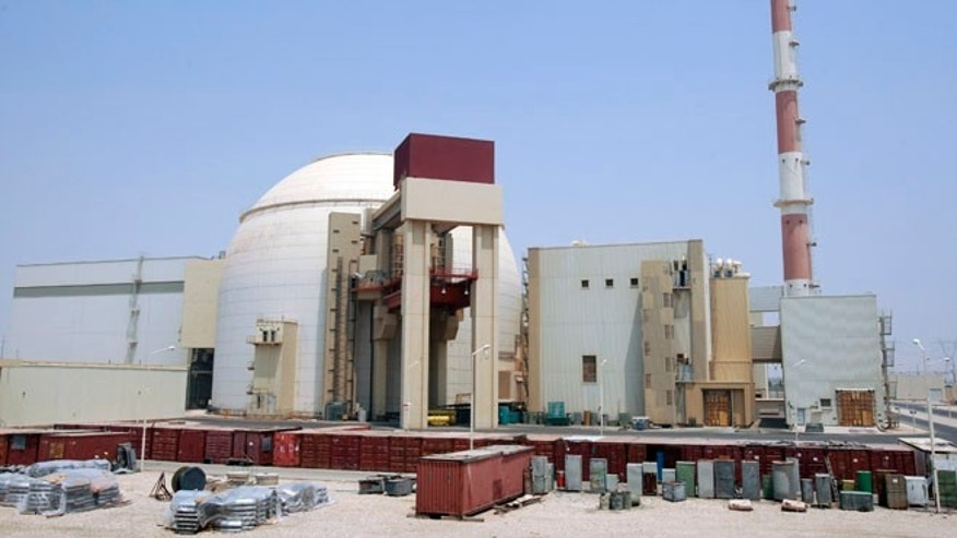 Aug. 21, 2010: A general view of the Bushehr main nuclear reactor, 746 miles south of Tehran, Iran.