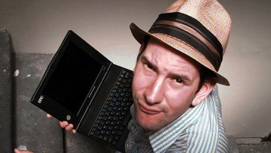 Drudge Report founder Matt Drudge is shown in this 1997 file photo.