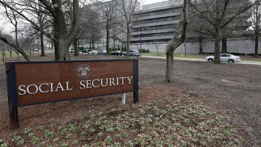 Jan. 11, 2013: The Social Security Administration's main campus in Woodlawn, Md.