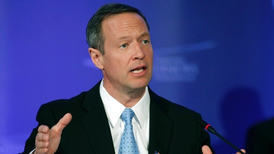 Shown here is Maryland Gov. Martin O'Malley.