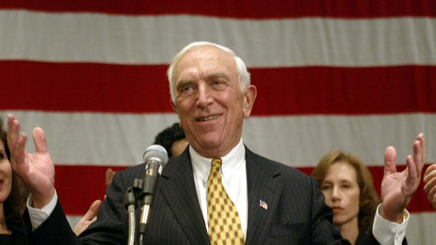 The late Sen. Frank Lautenberg, D-NJ.