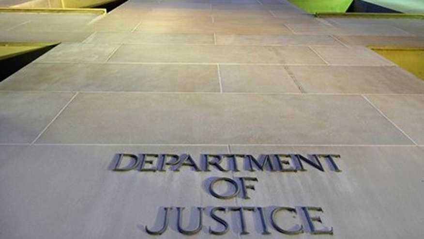 May 14, 2013: The Department of Justice headquarters building in Washington is photographed early in the morning.