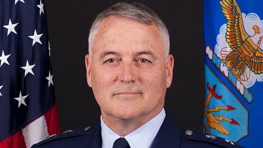 Shown here is Maj. Gen. Michael Carey, who led the 20th Air Force.
