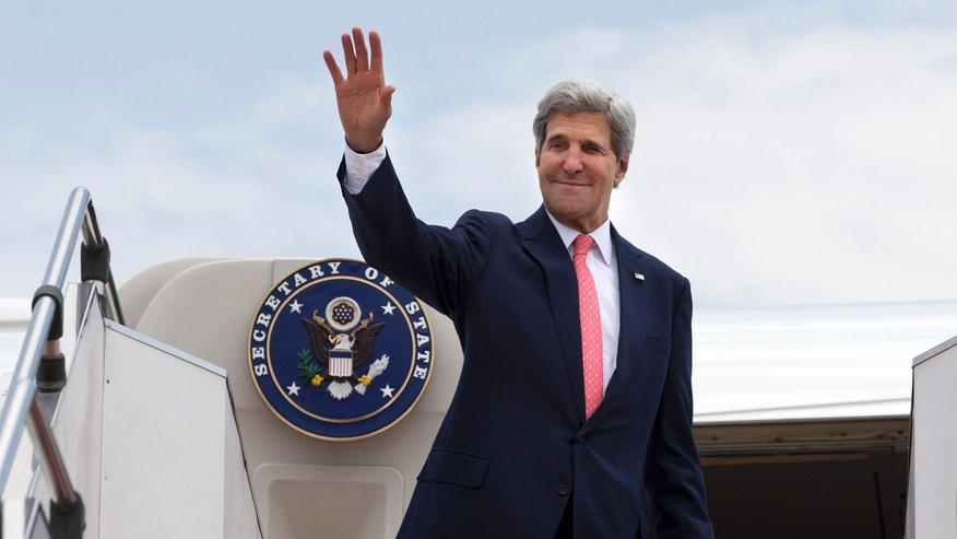 Oct. 11, 2013: U.S. Secretary of State John Kerry leaves from Subang TUDM outside of Kuala Lumpur, Malaysia after completing his trip to Malaysia after U.S. President Barack Obama cancelled his trip to the region due to the U.S. government shutdown.
