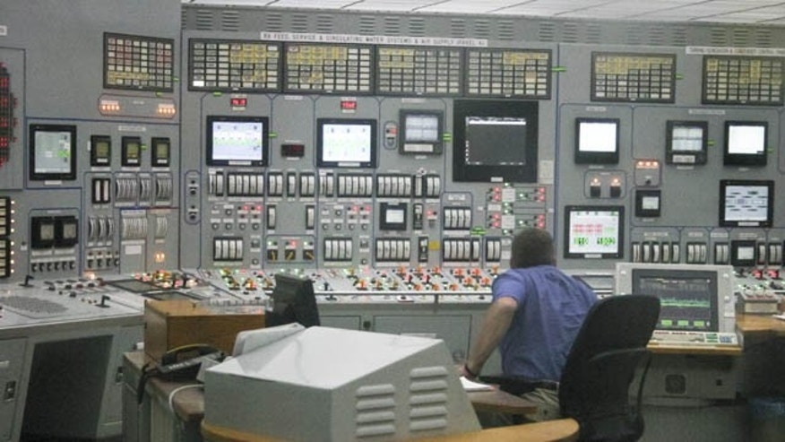 FILE - This June 26, 2011 file photo shows the control room of the Cooper nuclear power plant in Brownville, Nebraska (AP Photo)