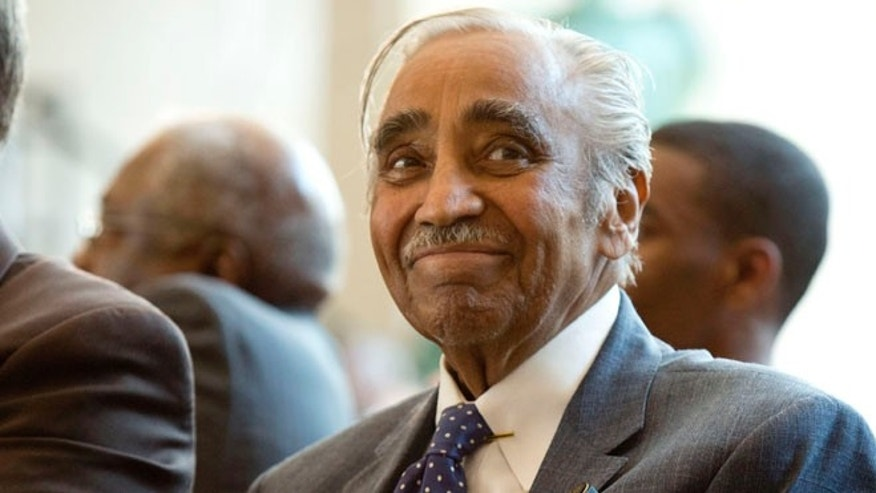 Rep. Charles Rangel (D-NY) attends a ceremony on Capitol Hill in Washington June 27, 2012.