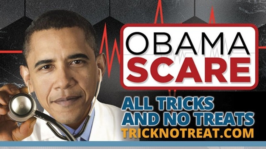 The #ObamaScare hashtag was used by many Republicans in the days leading up to Halloween.