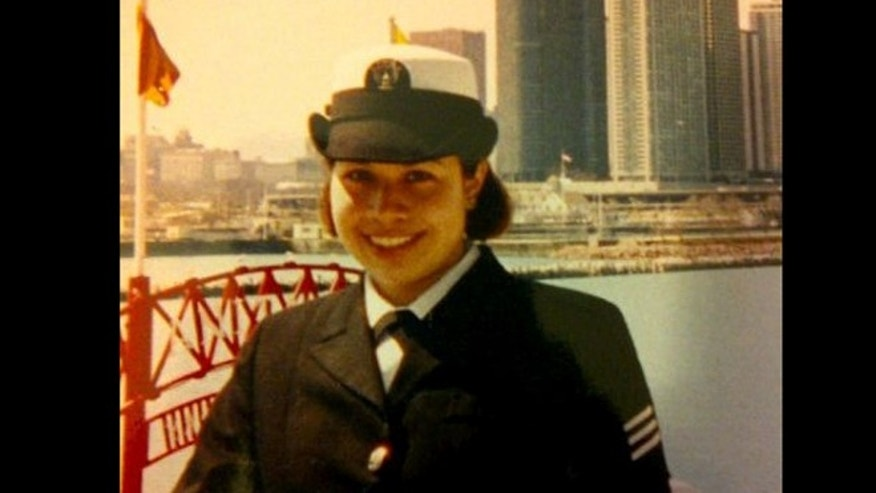 Evelyn Ospina served aboard the USS Saipan during the Iraq War.
