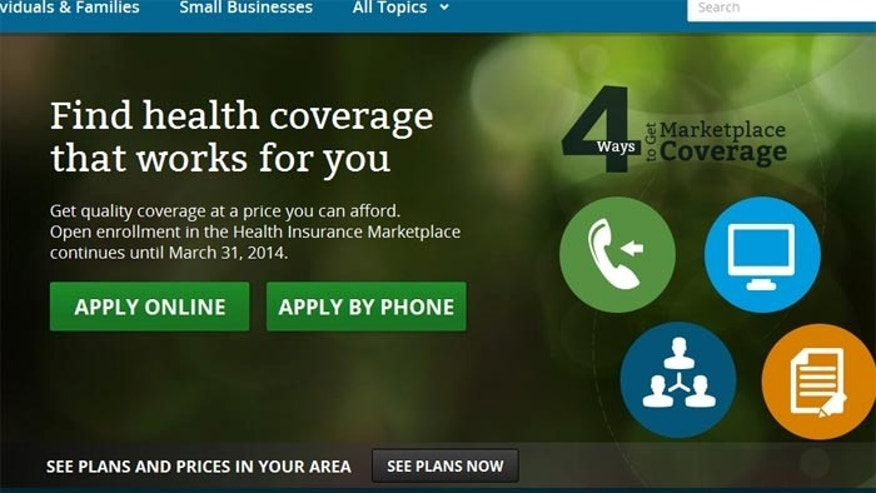 ... Now you don't. The mysterious Healthcare.gov covergirl has been replaced by helpful icons, telling prospective ObamaCare enrollees they can use a phone, write a letter, log on or simply talk to people about getting coverage.