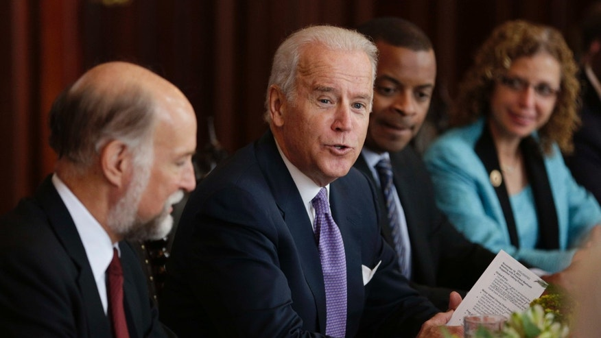 U.S. Vice President Joe Biden during a meeting at the presidential palace in Panama City, Tuesday, Nov. 19, 2013.