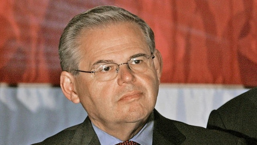 U.S. Senator Robert Menendez, Democrat from New Jersey.
