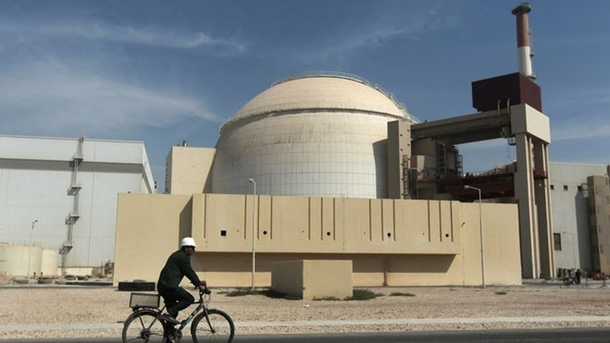 Oct. 26, 2010 file photo of the reactor building at the Bushehr nuclear power plant, just outside the southern city of Bushehr, Iran.