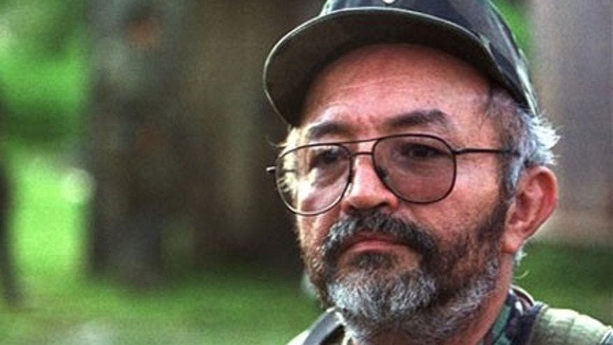 December 22, 2013: Raul Reyes, the second-ranking commander in Colombia's rebel FARC army, was among those killed with the help of weapons and intelligence supplied by a CIA program, according to a Washington Post report. (AP/File)