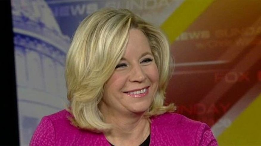 "November 17, 2013: Liz Cheney appears on ""Fox News Sunday,"" an interview in which she made controversial comments about same-sex marriage and her sister's relationship with a woman."