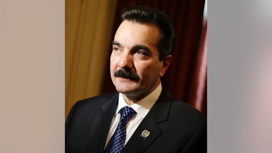 New Jersey Assembly Speaker Vincent Prieto, D-Secaucus, N.J.