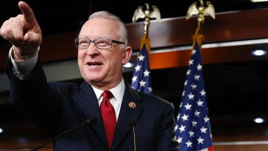 FILE: Dec. 9, 2013: Rep. Buck McKeon, R-Calif., at the U.S. Capitol in Washington, D.C.