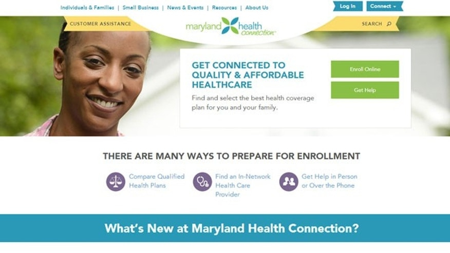 (MarylandHealthConnection.Gov)