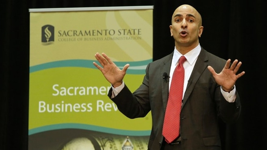 Jan. 21, 2014: Neel Kashkari, a former U.S. Treasury official, announced that he would run for governor of California while giving the keynote speech at the Sacramento Business Review at California State University, Sacramento, in Sacramento, Calif.