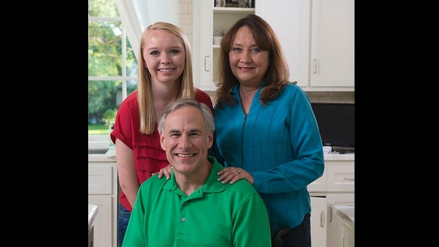 Texas Attorney General Greg Abbott and his family.