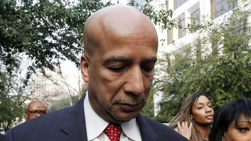 FILE: Jan. 27, 2014: Former New Orleans Mayor Ray Nagin at the Hale Boggs Federal Building in New Orleans, La.