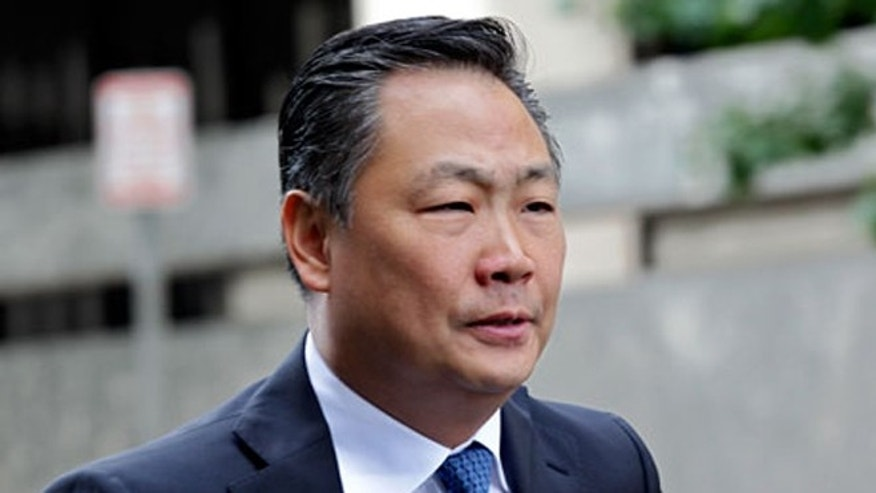 Shown here is former government contractor Stephen Kim.