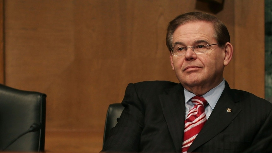 WASHINGTON, DC - FEBRUARY 13: Sen. Robert Menendez (D-NJ), attends the Senate Finance Committee's  confirmation hearing for Treasury Secretary nominee Jack Lew, February 13, 2013 in Washington, DC. If confirmed by the U.S. Senate Mr. Lew will replace Tim Geithner as Treasury Secretary.  (Photo by Mark Wilson/Getty Images)