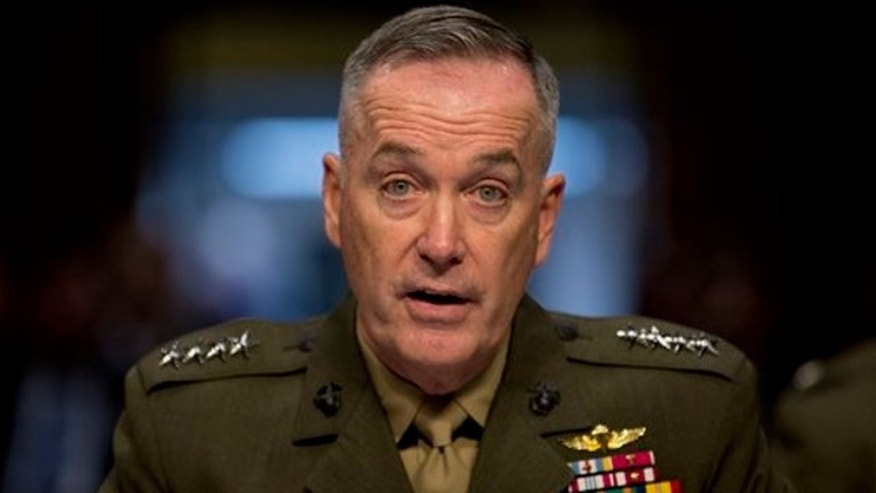 March 12, 2014: Marine Gen. Joseph F. Dunford, Jr., Commander, International Security Assistance Force, testifies on Capitol Hill in Washington. during a Senate Armed Services Committee on the situation in Afghanistan.