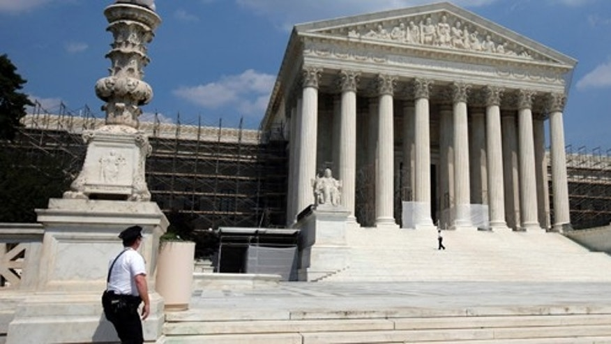 FILE: 2013: The Supreme Court building, in Washington, D.C.