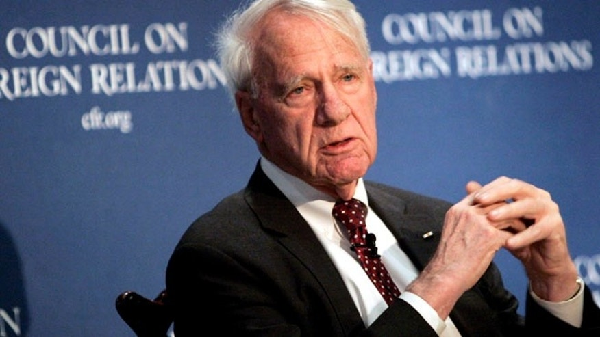 Dec. 18, 2006: Former Secretary of Defense James Schlesinger speaks at the Council on Foreign Relations in New York.