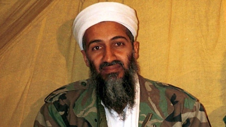FILE - This undated file photo shows Al Qaeda leader Usama bin Laden in Afghanistan. At the center of a hotly disputed Senate torture report is Americas biggest counterterrorism success of all: the killing of Usama bin Laden. The still-classified, 6,200-page review concludes that waterboarding and other harsh interrogation methods provided no key evidence in the hunt for bin Laden, according to congressional aides and outside experts familiar with the investigation. The CIA still disputes that conclusion.  (AP Photo, File)