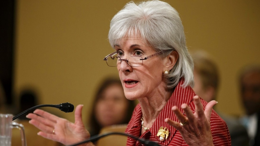 Mar. 12, 2014: Health and Human Services Secretary Kathleen Sebelius defends President Obama's healthcare law, the Affordable Care Act.