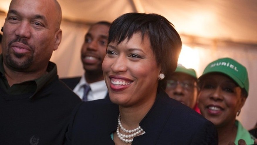 April 1, 2014: Muriel Bowser in Washington.