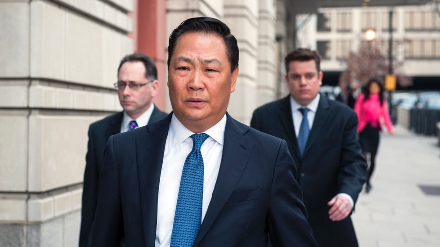 April 2, 2014: Stephen Kim, a former State Department expert on North Korea, leaves federal court in Washington.