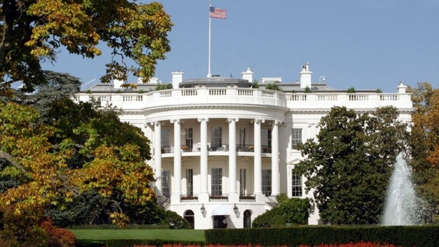 The White House is pictured in Washington D.C.