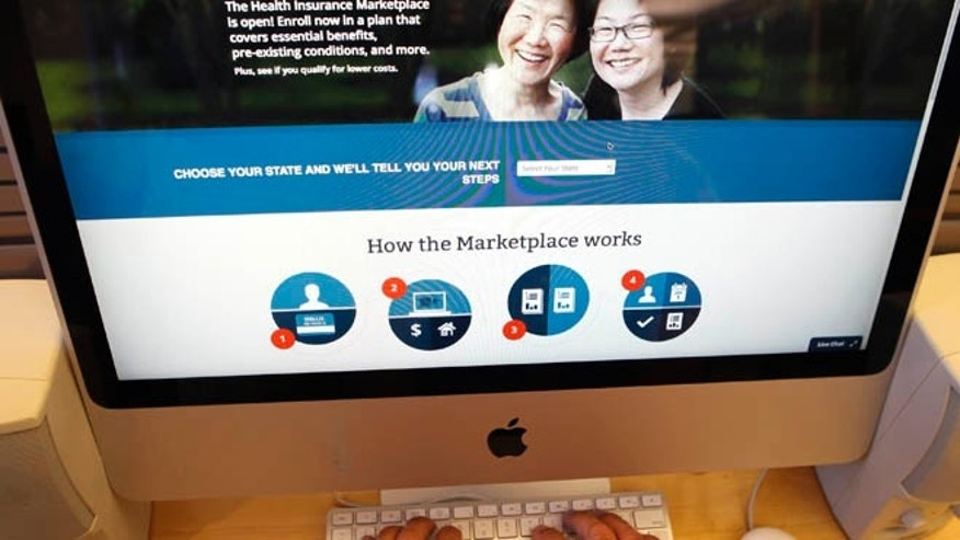 FILE: UNDATED:  The Affordable Care Act website.