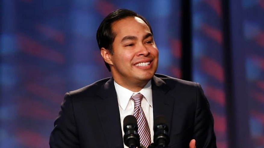 FILE: Jan. 23, 2014: San Antonio Mayor Julian Castro at the Families USAs 19th Annual Health Action Conference in Washington, D.C.