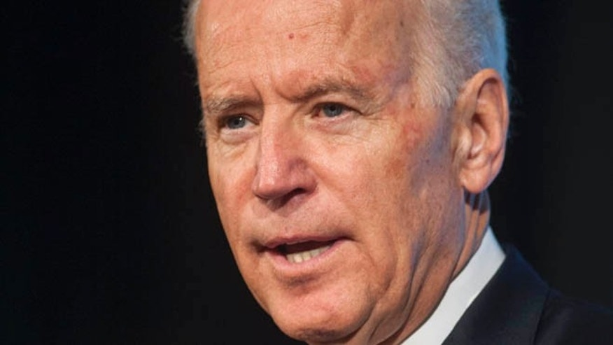 May 16, 2014: Vice President Joe Biden speaks in Arlington, Va.