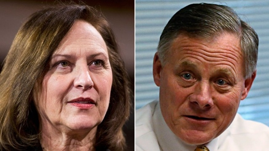 Republican Sens. Deb Fischer and Richard Burr.