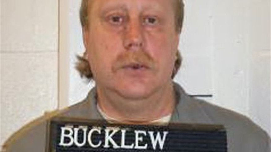 Feb. 9, 2014: Russell Bucklew is scheduled to die for killing a romantic rival as part of a crime spree in southeast Missouri in 1996.