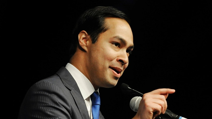 June 8: San Antonio Mayor Julian Castro gives the keynote address at the Texas Democratic Convention in Houston.