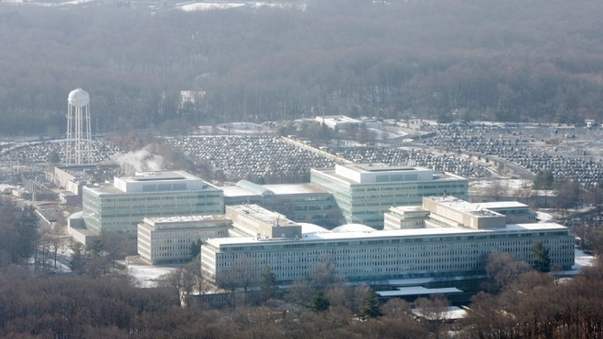 Jan. 18, 2008: An aerial view of the U.S. Central Intelligence Agency headquarters in Langley, Va.
