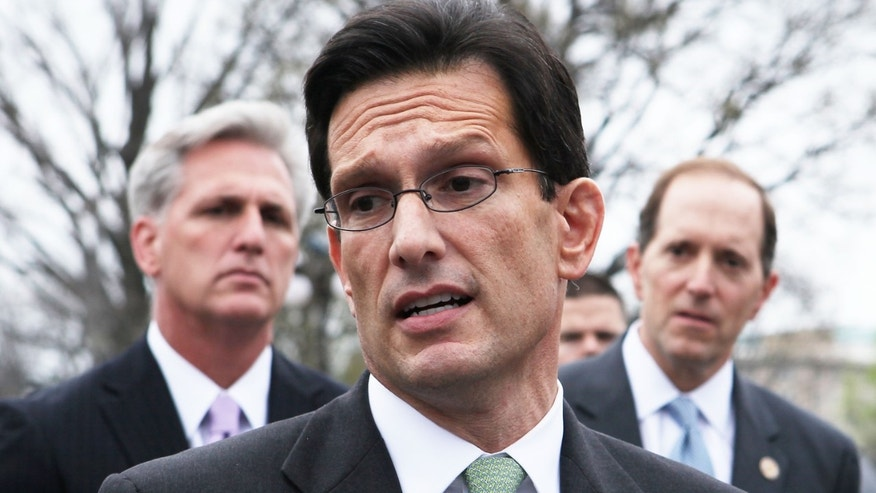 U.S. House Majority Leader Rep. Eric Cantor (R-VA).