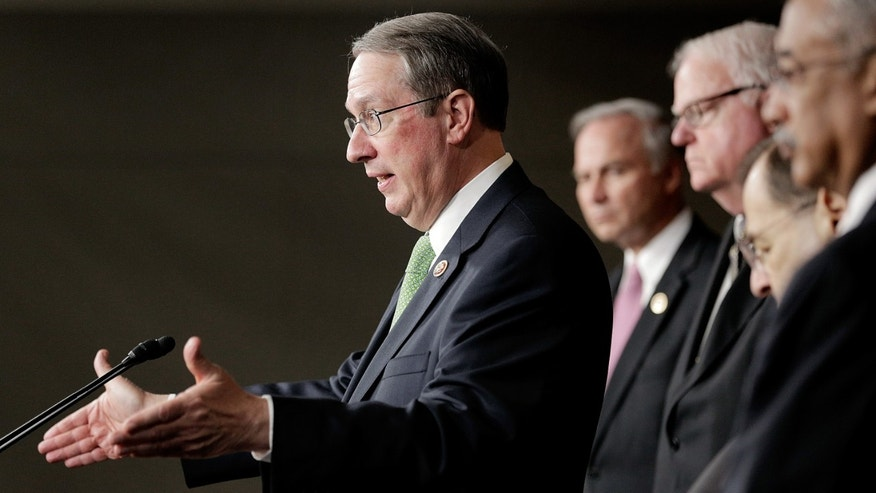 Rep. Robert Goodlatte at the Capitol on May 22, 2014 in Washington, DC.