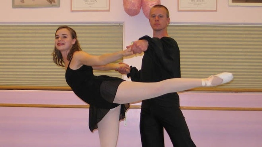 Shown here is Bowe Bergdahl, with an unidentified dancer, in his younger days.