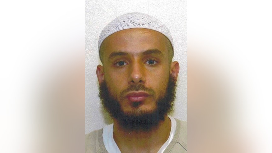 This Sept. 17, 2007 photo shows detainee Fouzi Khalid Abdullah al-Awda at Guantanamo Bay.