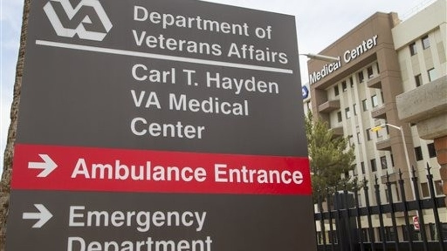 May 28, 2014: The Carl T. Hayden VA Medical Center in Phoenix.
