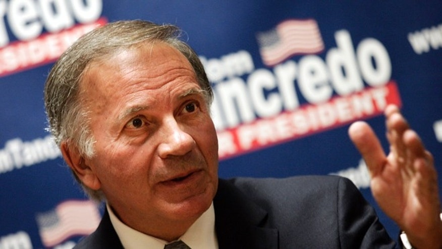 FILE: Undated: Colorado GOP gubernatorial candidate Tom Tancredo in Des Moines, Iowa.