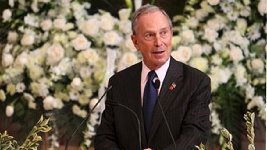 Former New York City Mayor Michael Bloomberg